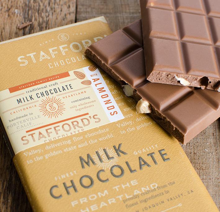 Pure Chocolate Bliss Bars — Stafford's Chocolates