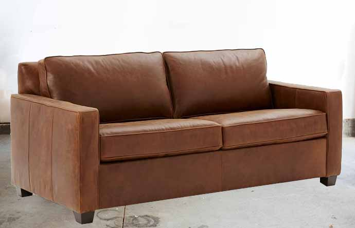 Turner Leather Sofa New Nostalgic