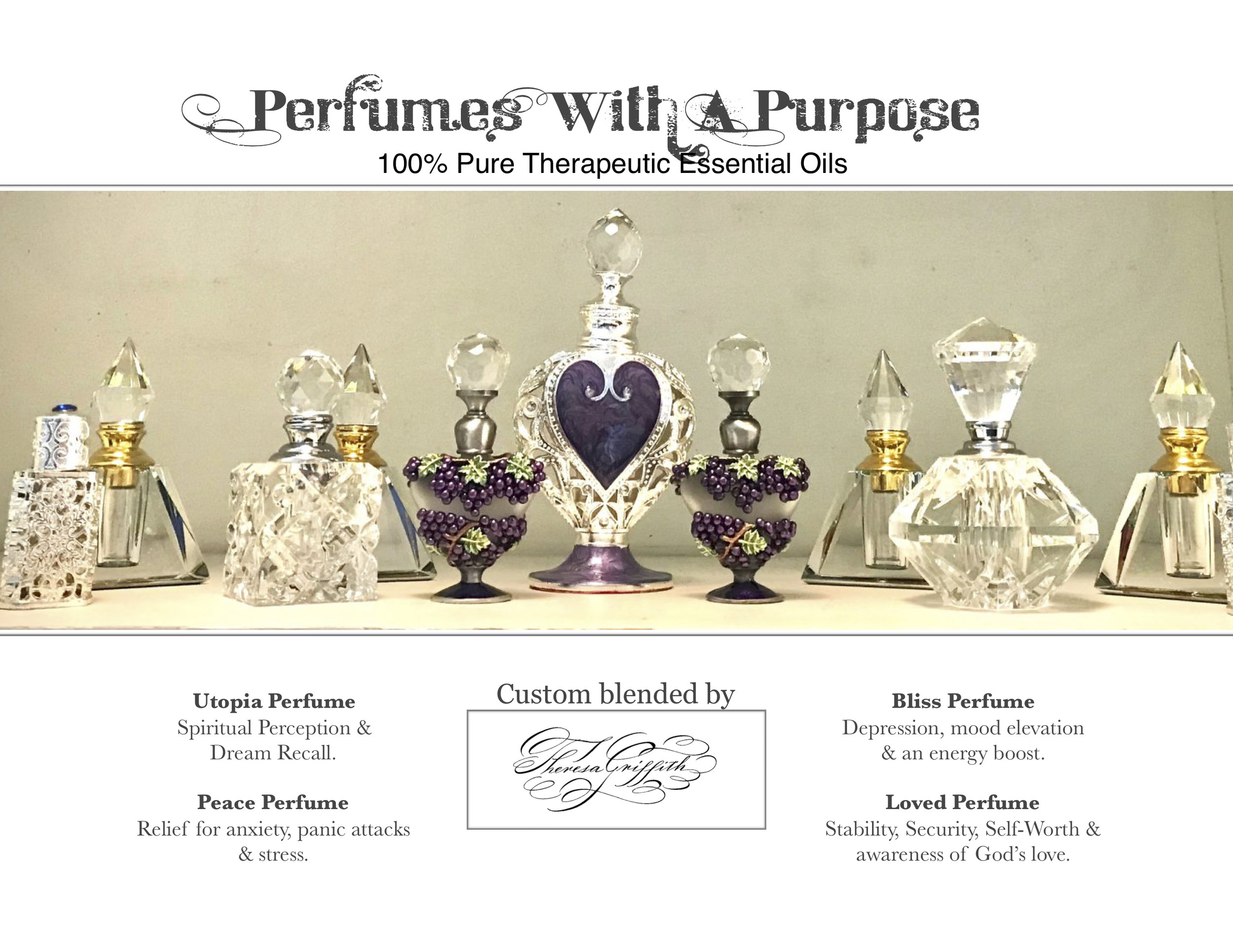 Essential Oil Perfumes - ***CLOSED FOR RELOCATION***