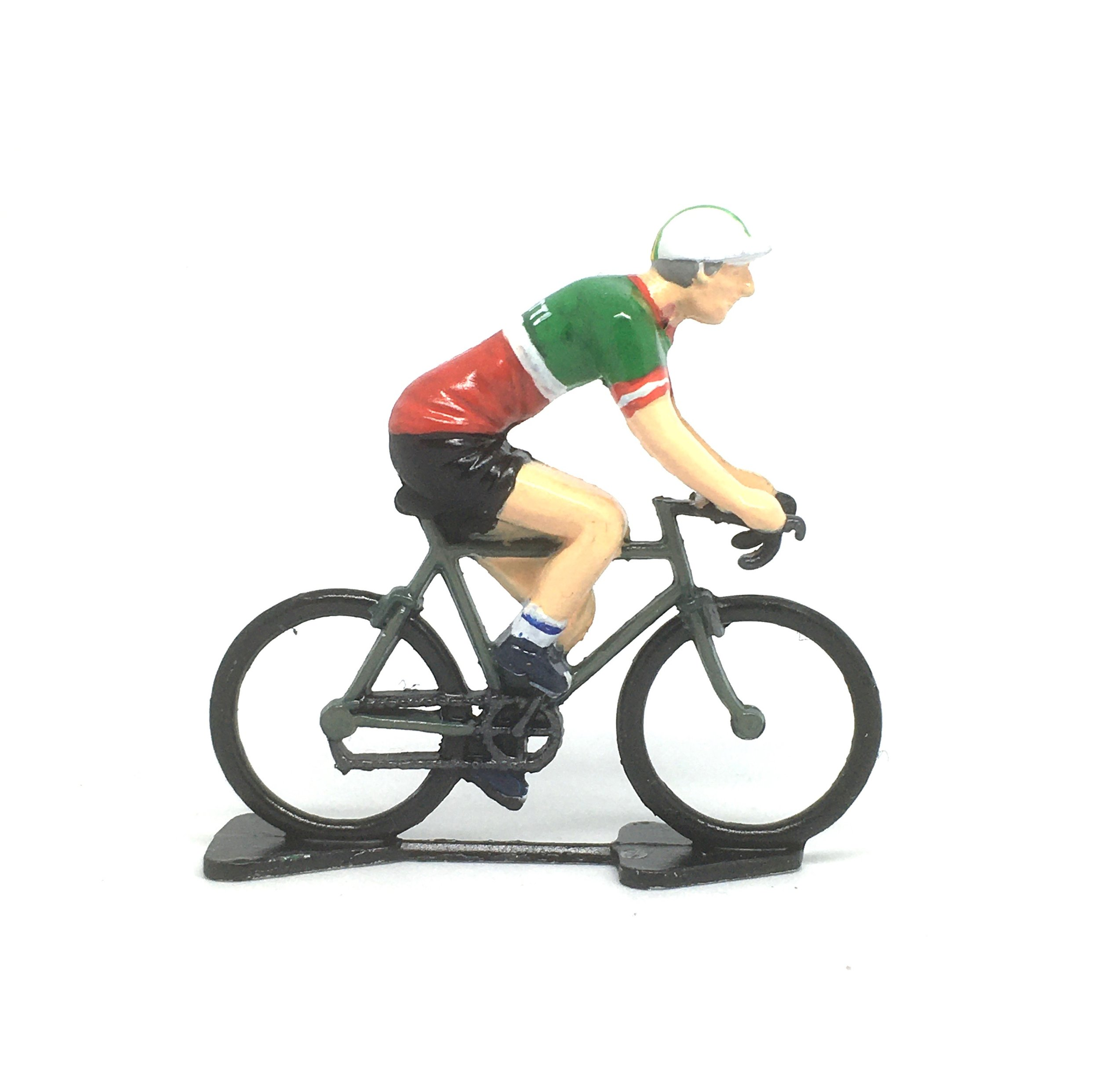 Diecast Model Cyclist Inside Cycling Christmas Bauble Decoration