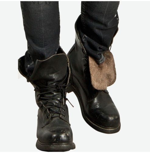 Military Lace Up Boots, Men Combat Leather Boots CMB,131 \u2014 Curvento