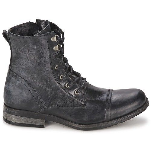 14b929f5c88 Men Military Style leather Boots CMB-308 — Curvento
