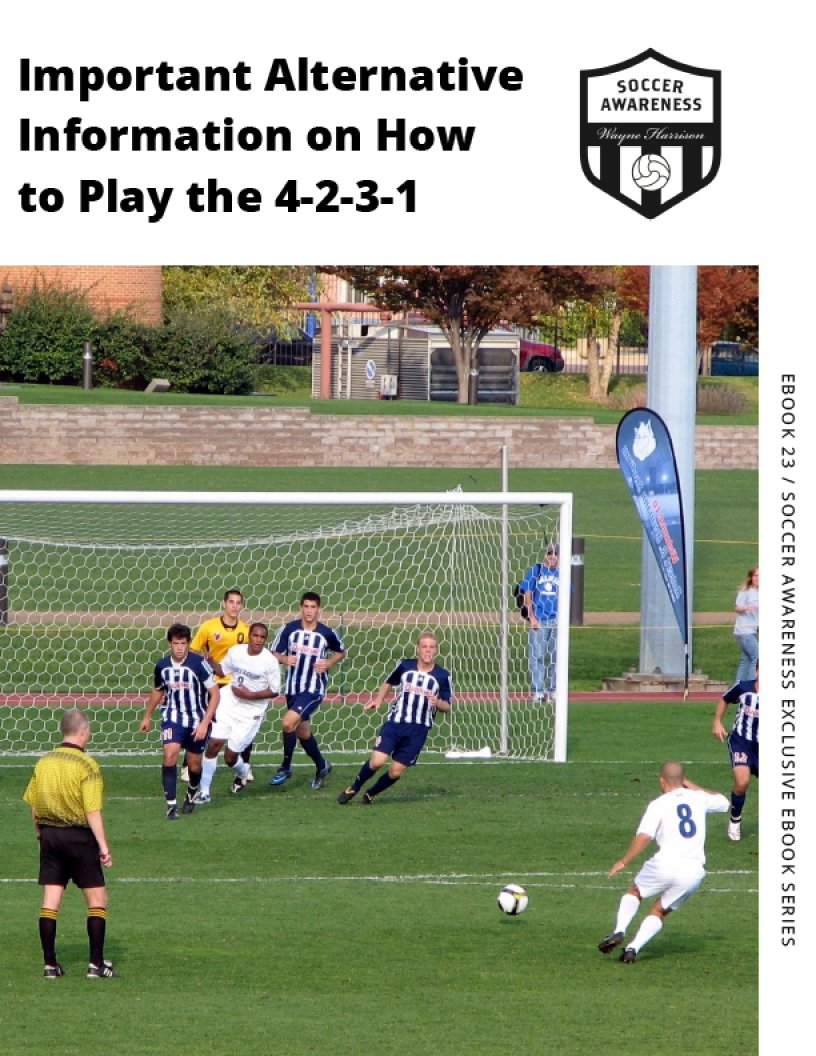 Important Alternative Information on How to Play the 4-2-3-1 — Soccer  Awareness