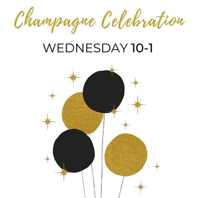 Champagne Celebration 🍾  Wednesday, 10-1 ✨ Join us for a toast to 18 great years with the most amazing customers.  Thank you so much for your love  和  loyalty. ✨ . . . . . #lastday #customerappreciation #customerlove #grateful #memories #StaceyRhodesBoutique #SRBstyle