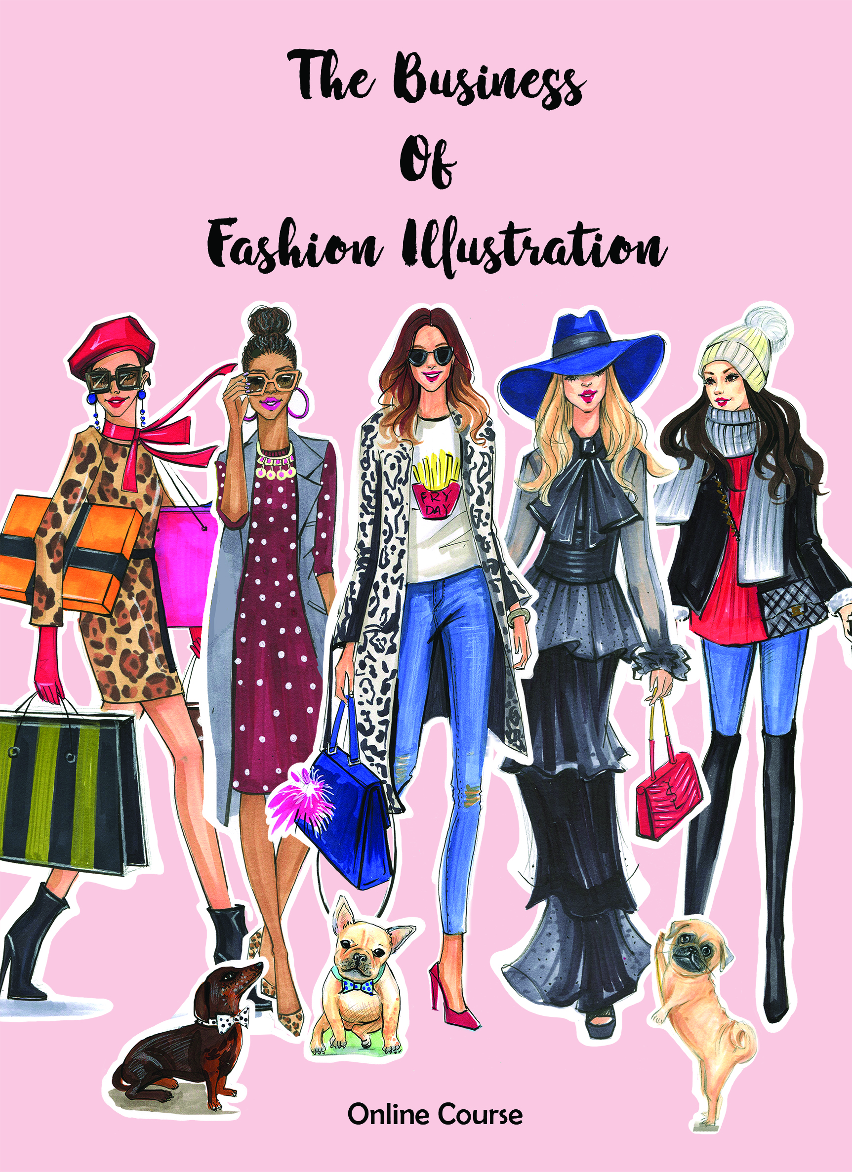 The Business Of Fashion Illustration Fashion And Beauty Illustrator Rongrong Devoe
