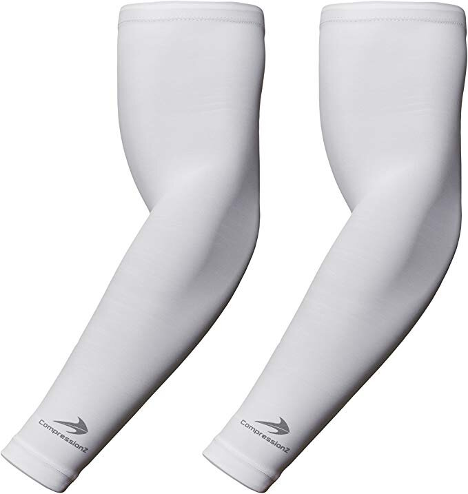 Pair - Compression Elbow Brace Support for Girls//Boys//Kids Volleyball Baseball Softball Sports Sleeves for Basketball CompressionZ Youth Arm Sleeve Support Growing Muscles /& Recovery