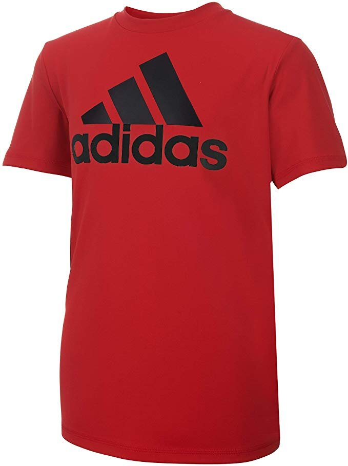 adidas Boys Stay Dry Climalite Short Sleeve T-Shirt