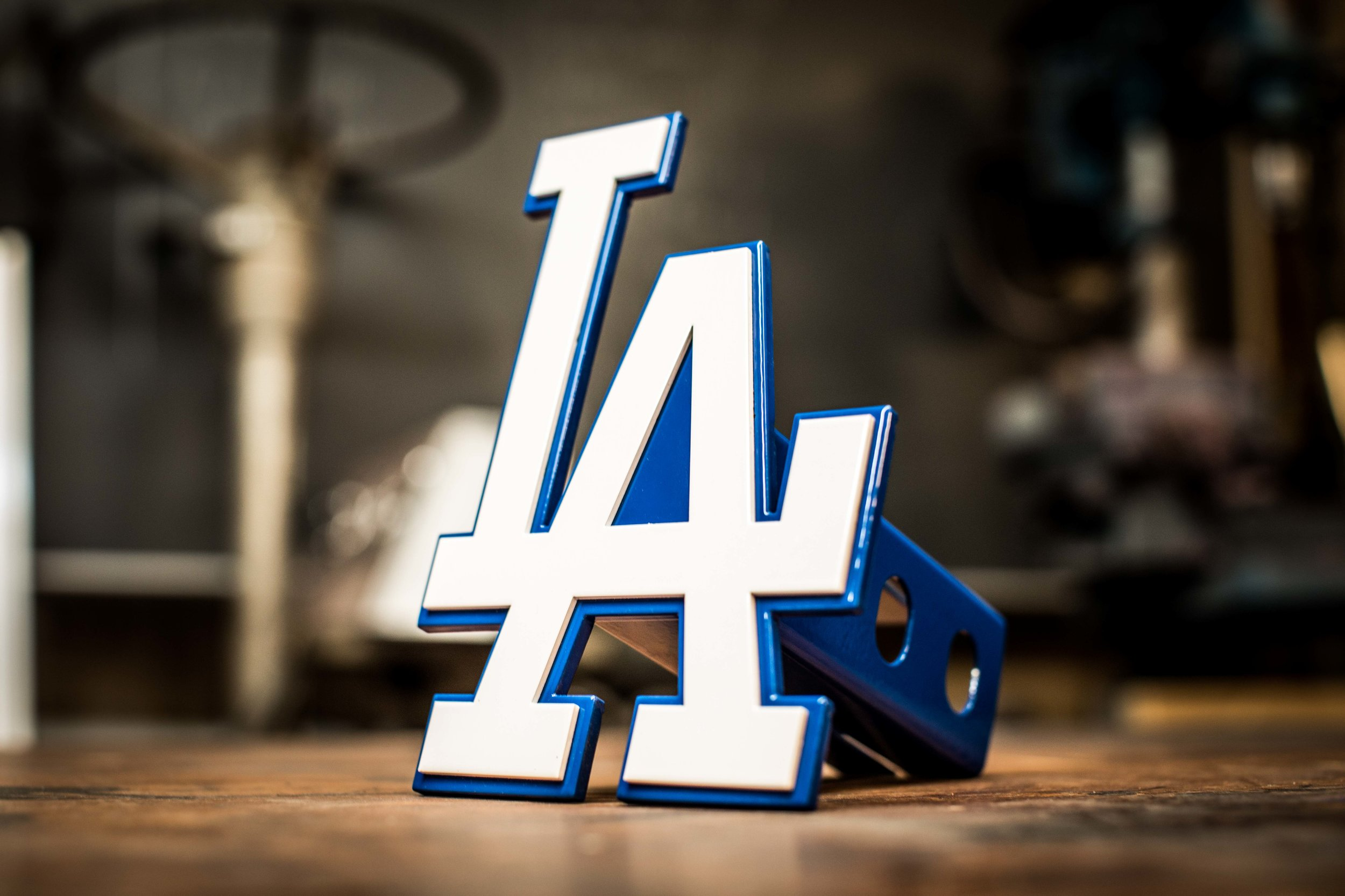 LA Dodgers Custom Hitch Cover