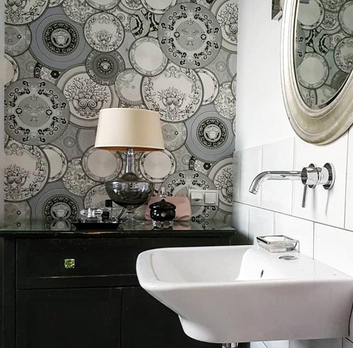 Versace Les Etoiles De La Mer 2 Motif Wallpaper Home Decor Hull Limited