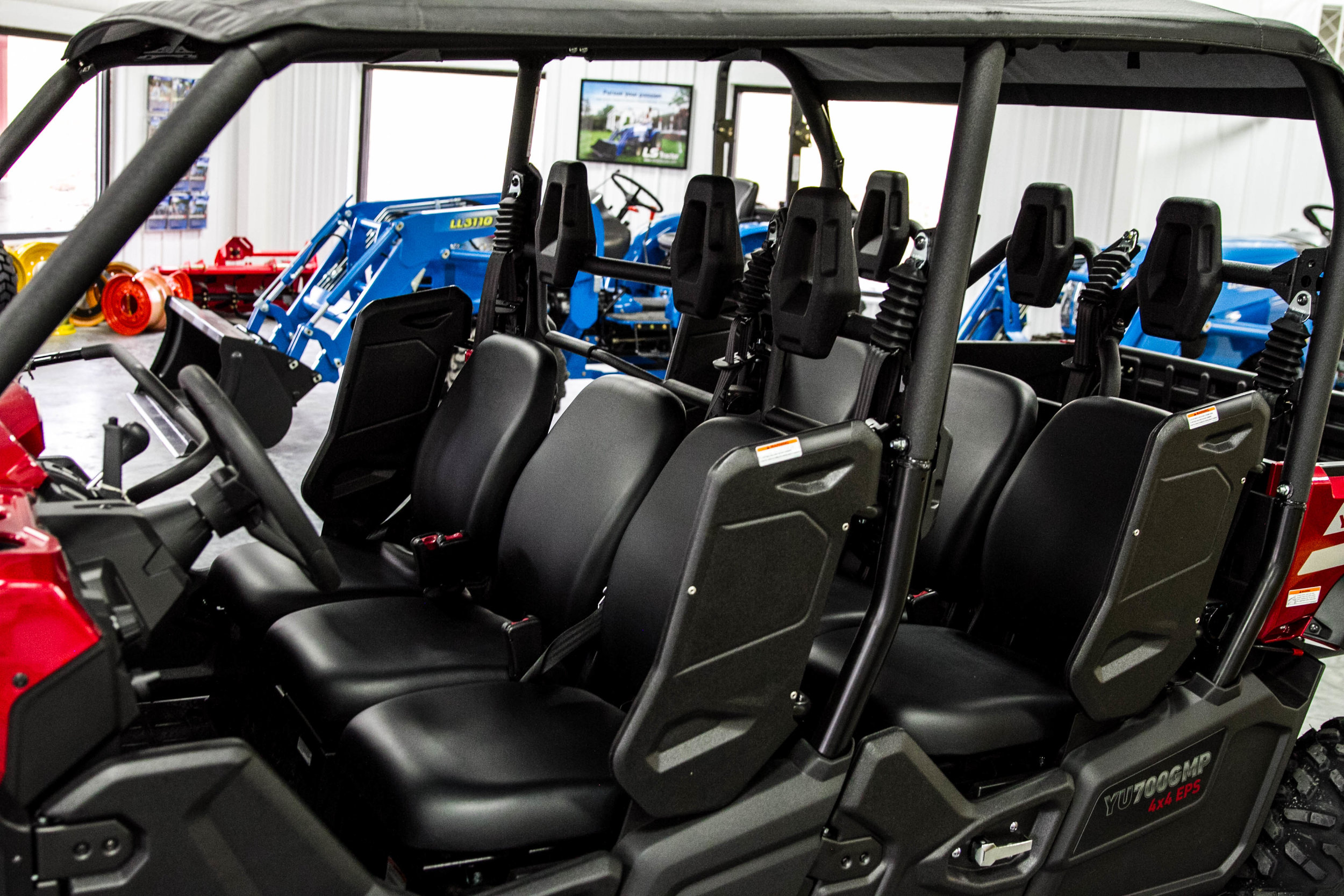 6 Seater Utv >> Yanmar Longhorn 6 Seater Utv Greg Abbott Equipment Sales
