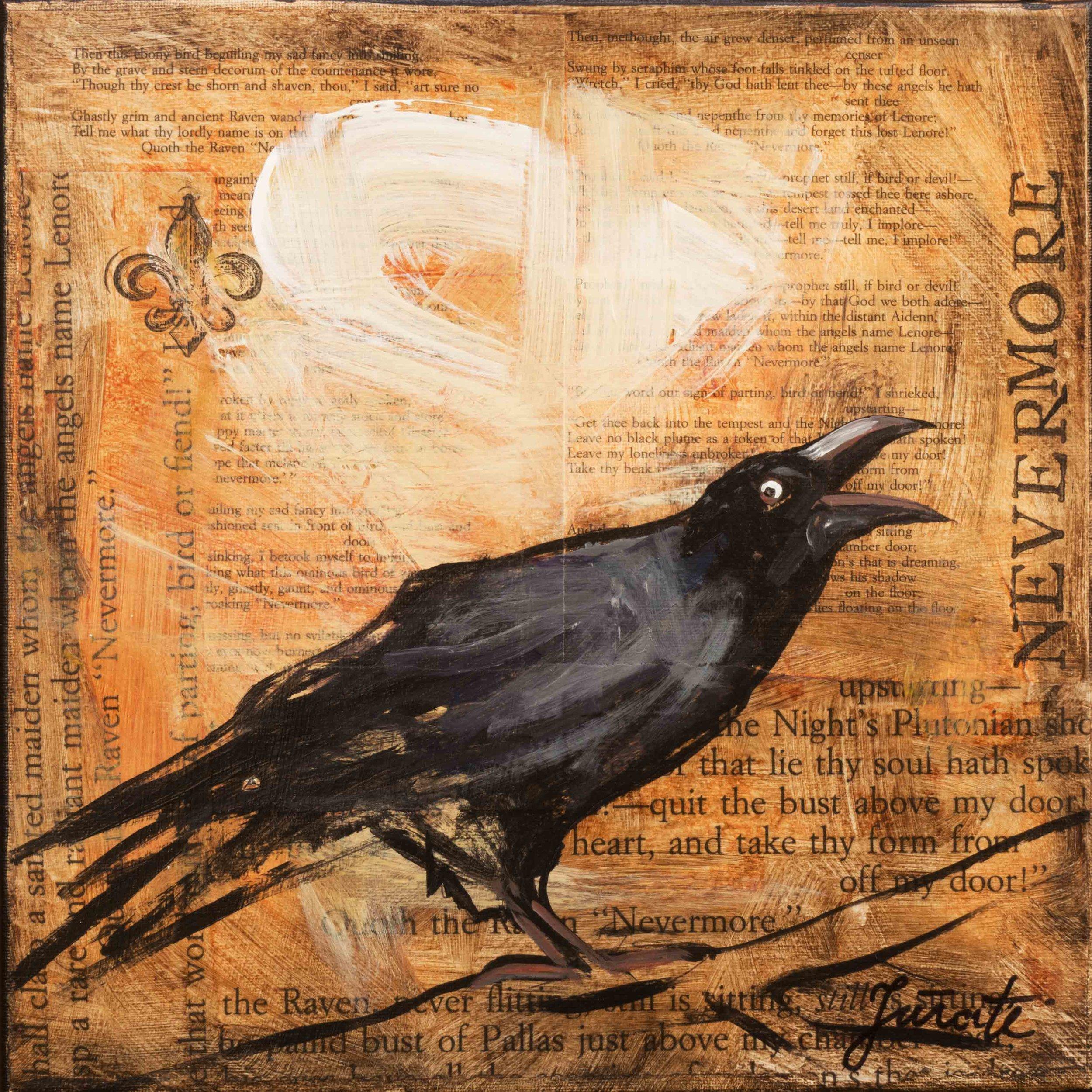 Nevermore 3 — Gourmet Art Studio