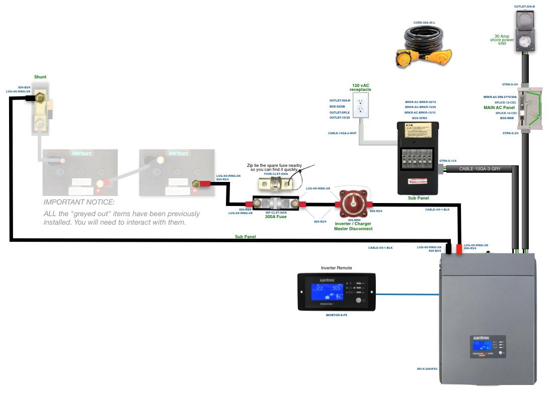 [DIAGRAM_38EU]  Xantrex Freedom XC 2000W w/Transfer | Xantrex Inverter Wiring Diagram |  | AM Solar