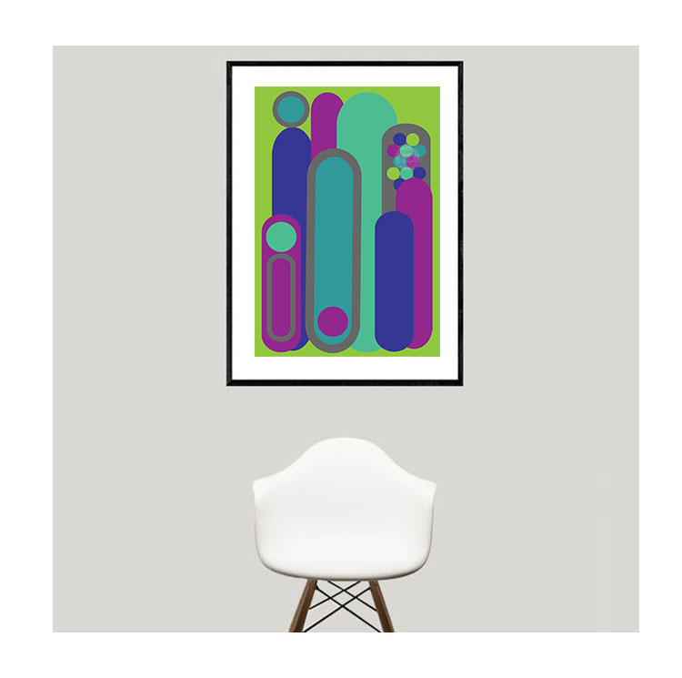 Extroverted Introvert - Art Print — Emilio Frank Design