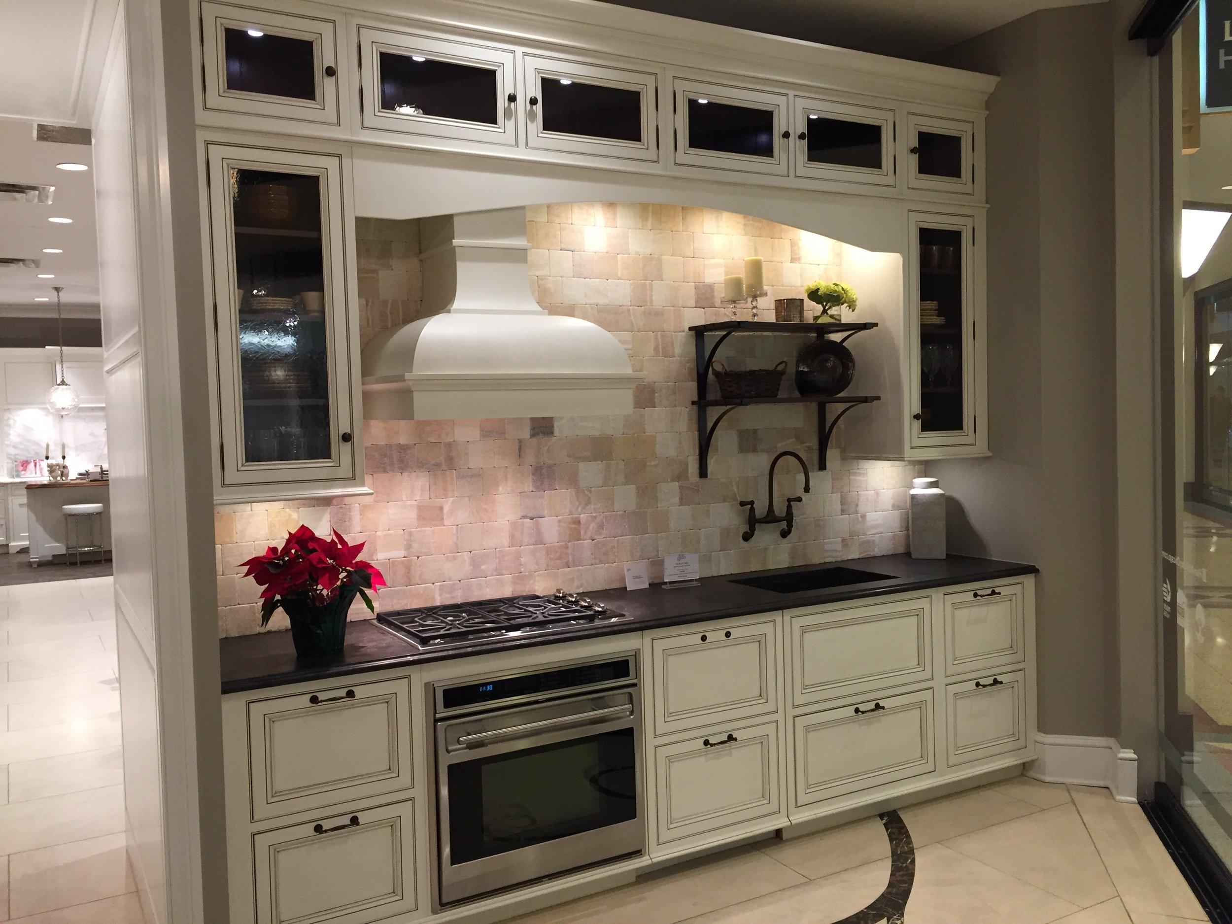NEW Plain & Fancy White Inset Kitchen Cabinets Complete Subzero Wolf —  Little Green Kitchens
