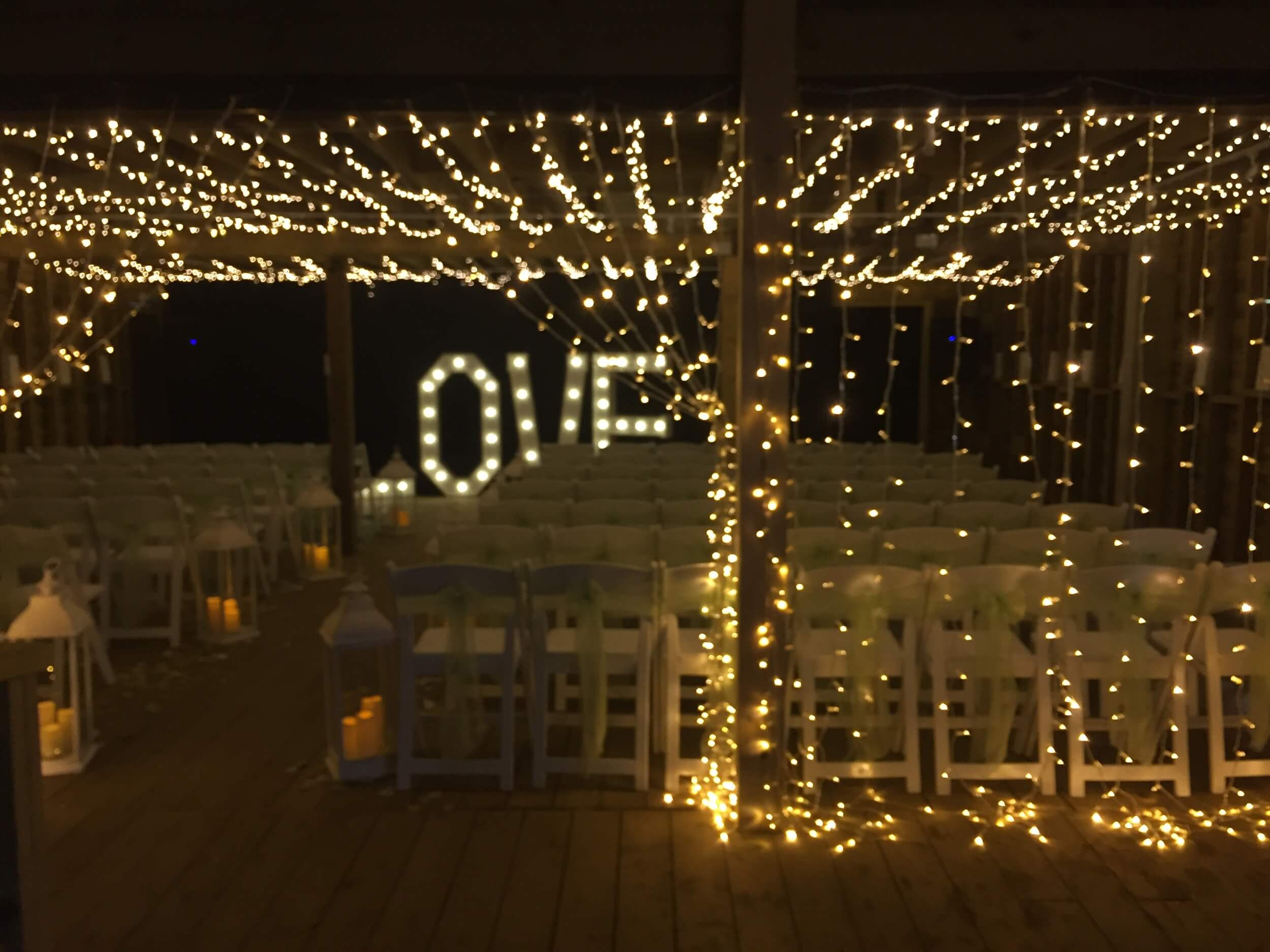 Fairy Light Installation To Have Hire Events
