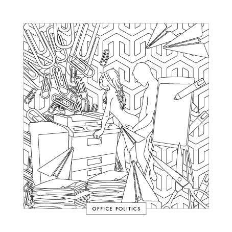 FILL ME IN : Adult Colouring Book — Fill Me In