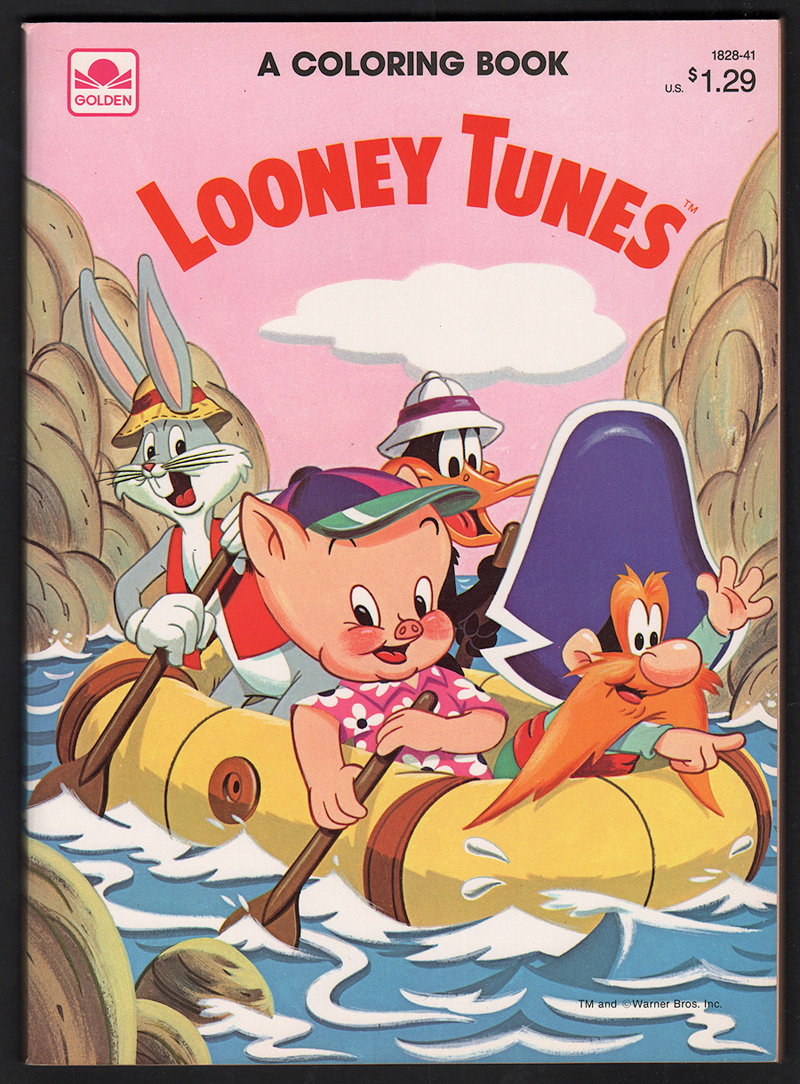 - Comic Mint - Animation Art - Looney Tunes Coloring Book (Whitman