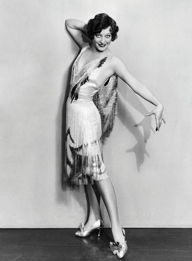 Actress Joan Crawford in 1924