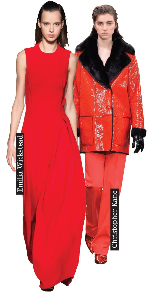 Walking Flamboyance - The ultimate dress-to-impress code – just be careful not get everyone too hot under the collar.