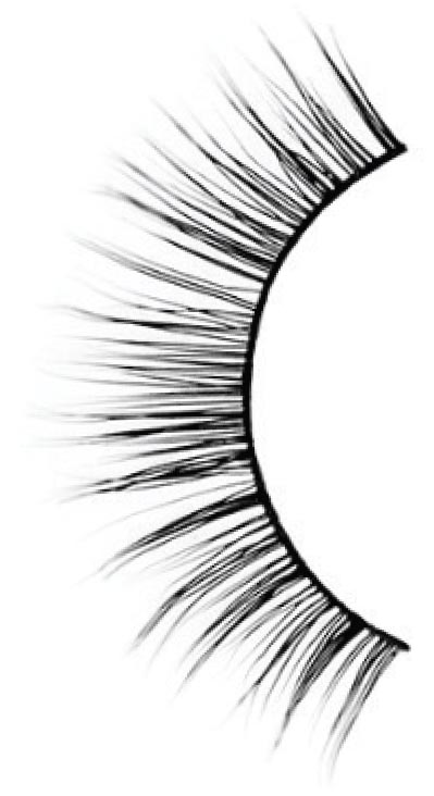 - These mink falsies add subtle length to one's natural lashes. Worn with light make-up, they're perfect for daytime.