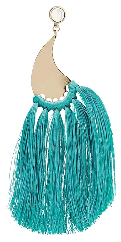 Gold-tone tassel earrings, <br>Etro (lyst.com)