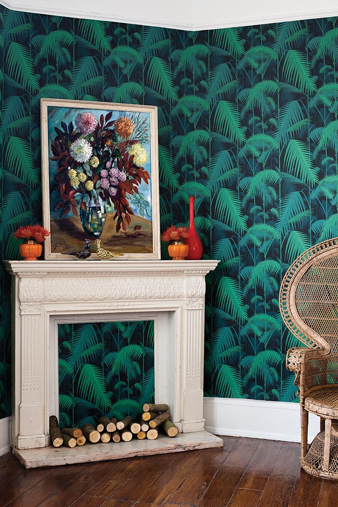 Palm Jungle from the Contemporary Restyled collection, Cole & Son