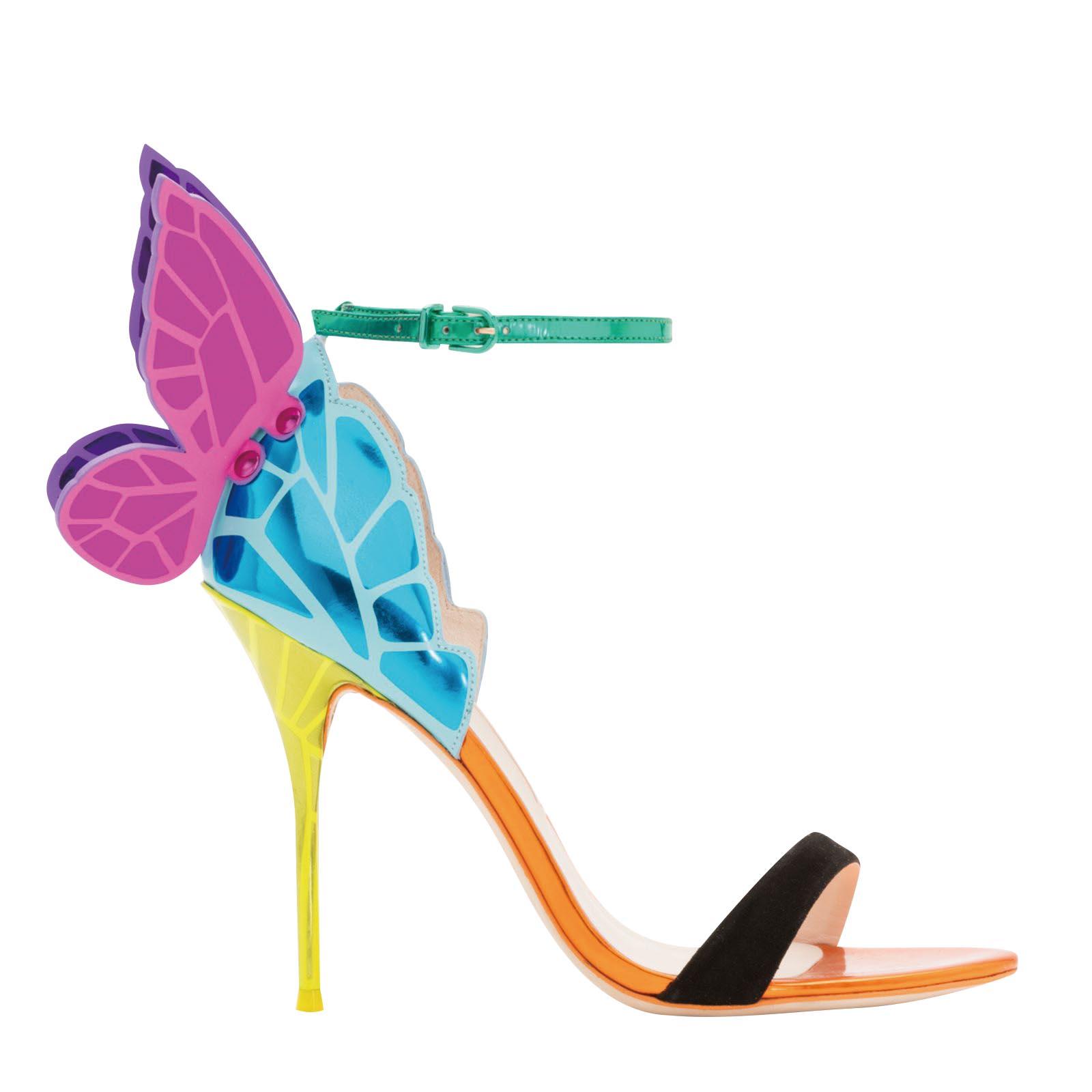 Chiara butterfly wing sandal, Sophia Webster
