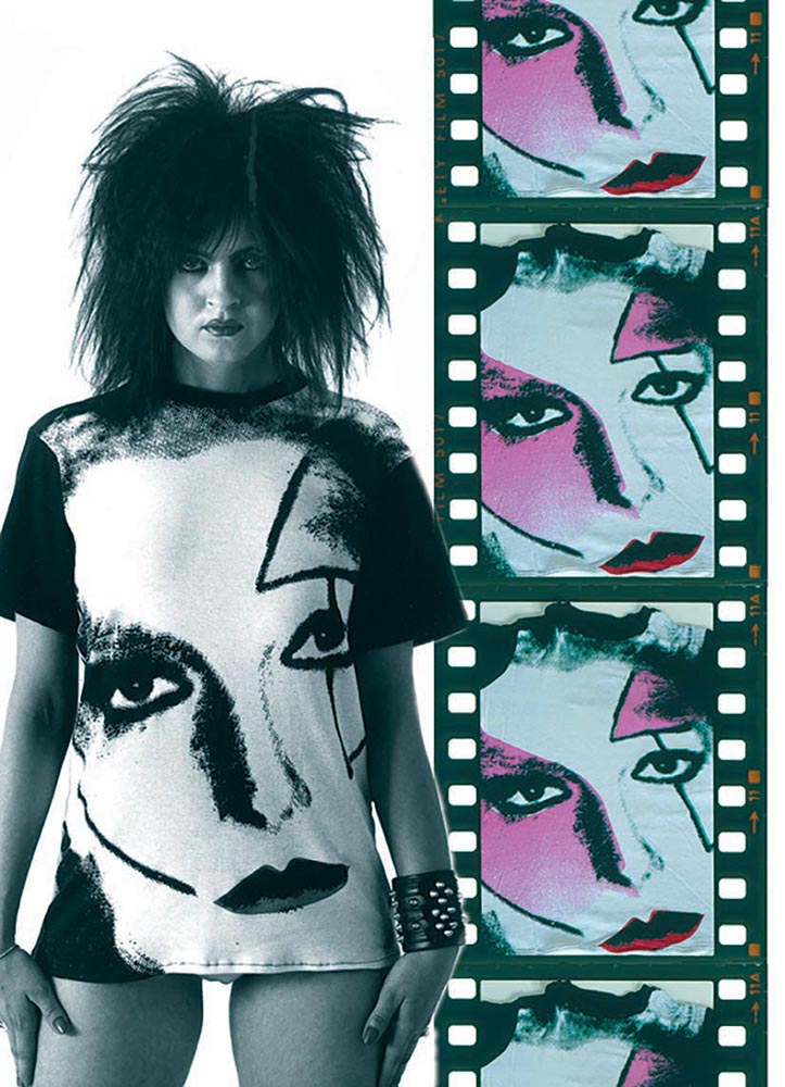 Face No. 3 Jordan by Kitsch-22, 1977