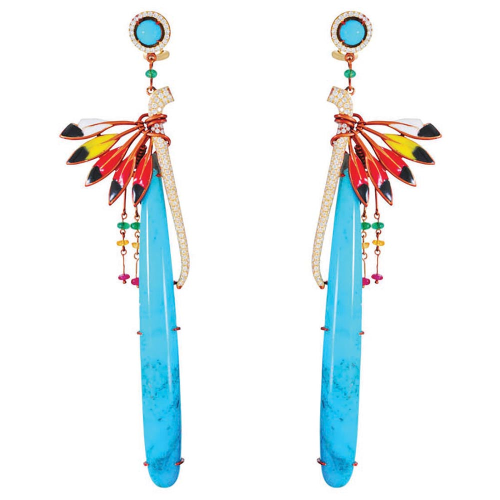 Earrings from <br>Rainbow Warrior Prophecy