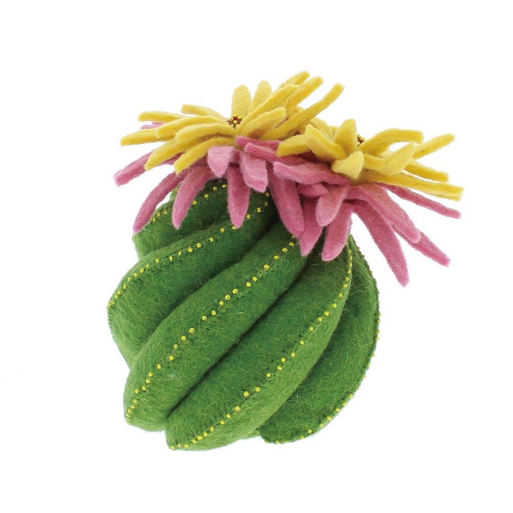 Felt flower cactus, V&A