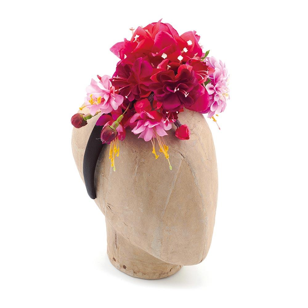 Fuchsia headdress, Philippa Craddock