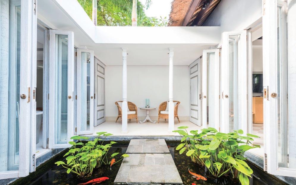 The entrance of the Garden Pool Villa