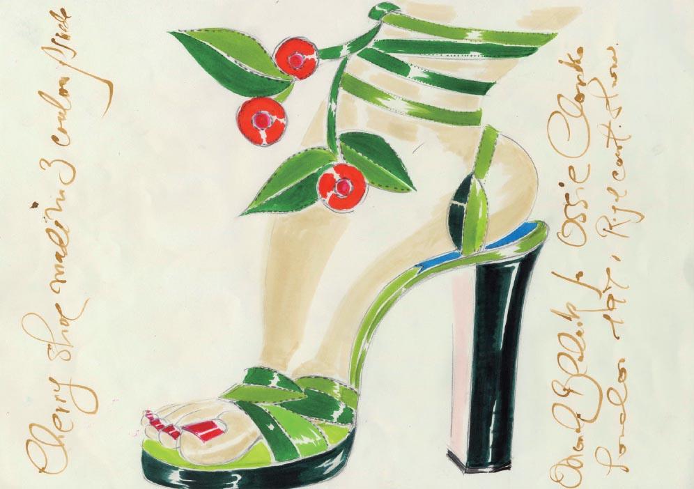 1971 design for Ossie Clark