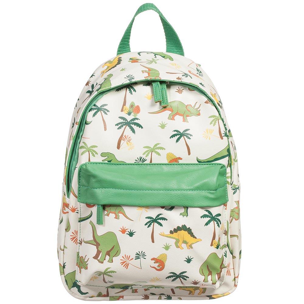 Green dinosaur backpack, Powell Craft