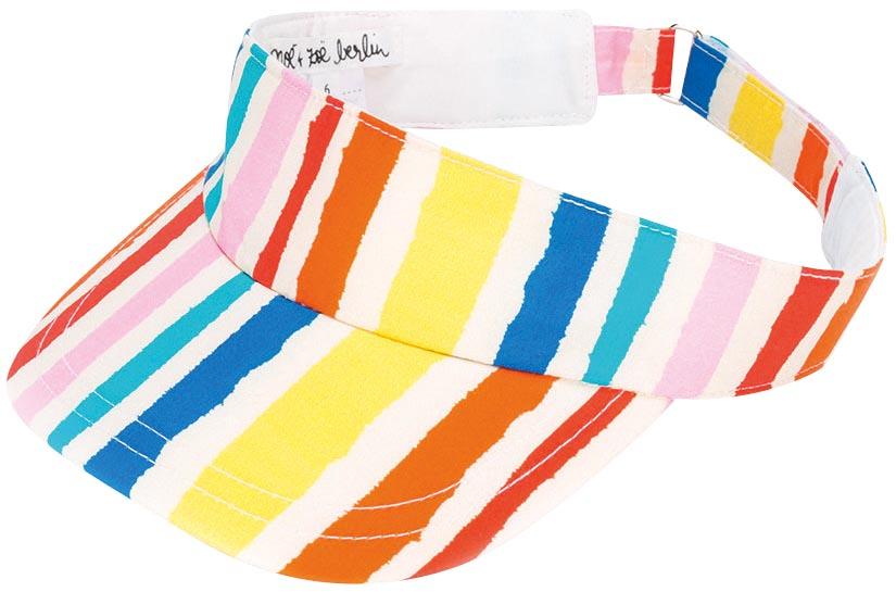 Striped visor, Noé & Zoë