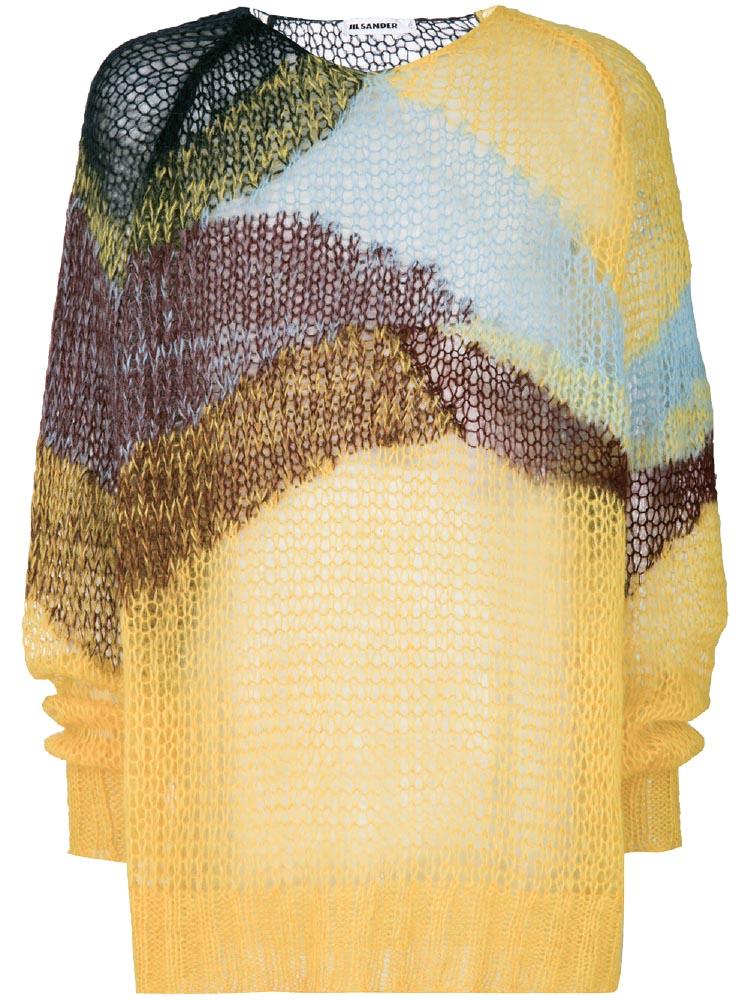 Wave knit sweater, Jil Sander