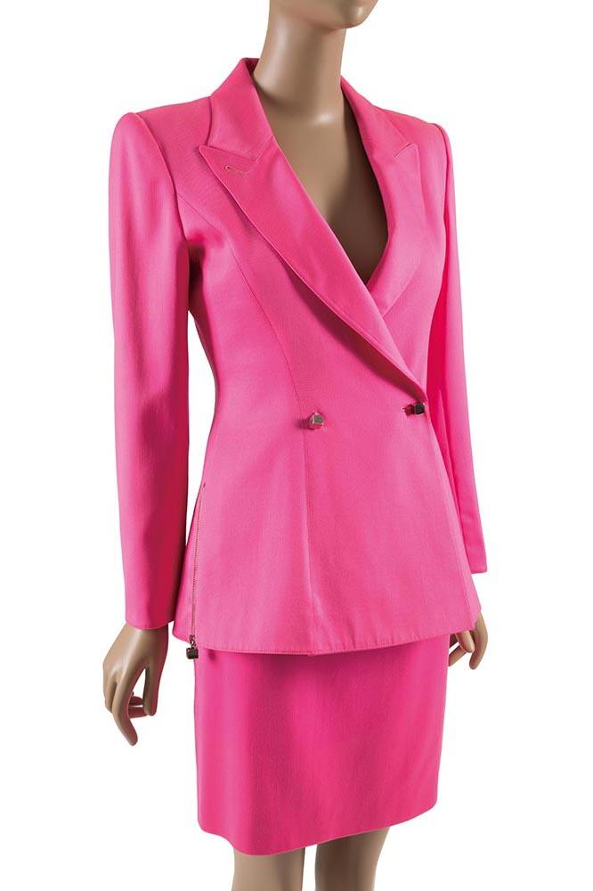 Claude Montana, suit, 1980s, France, museum purchase