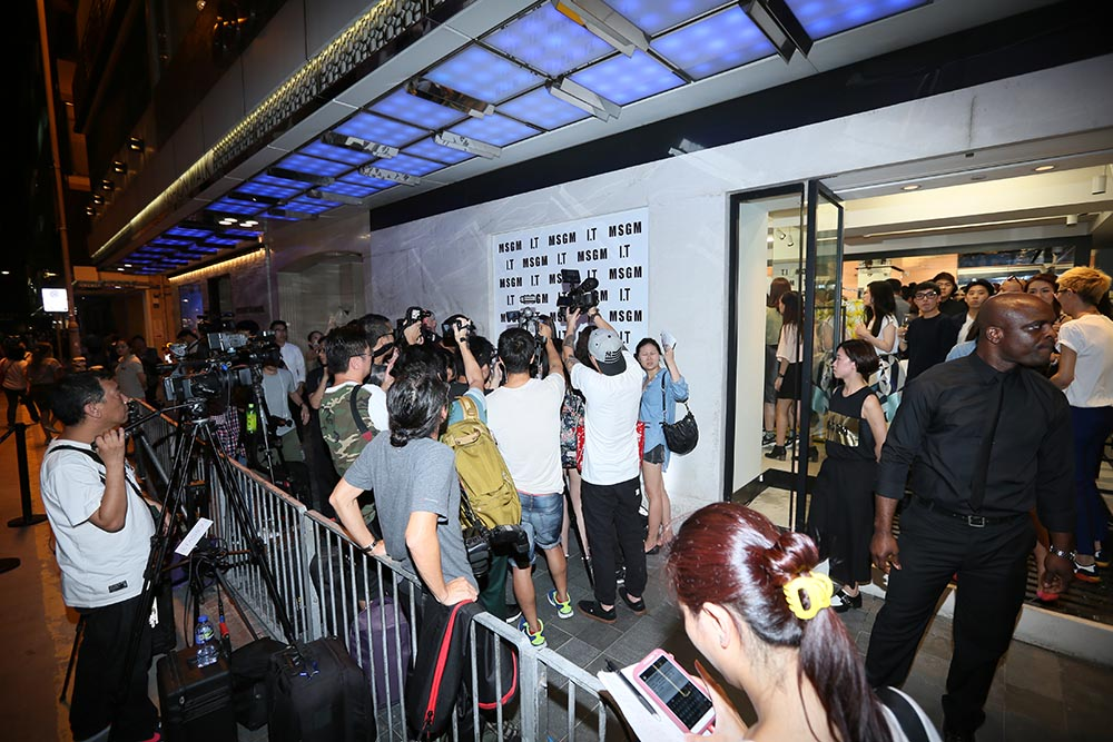 2015: MSGM Store Opening