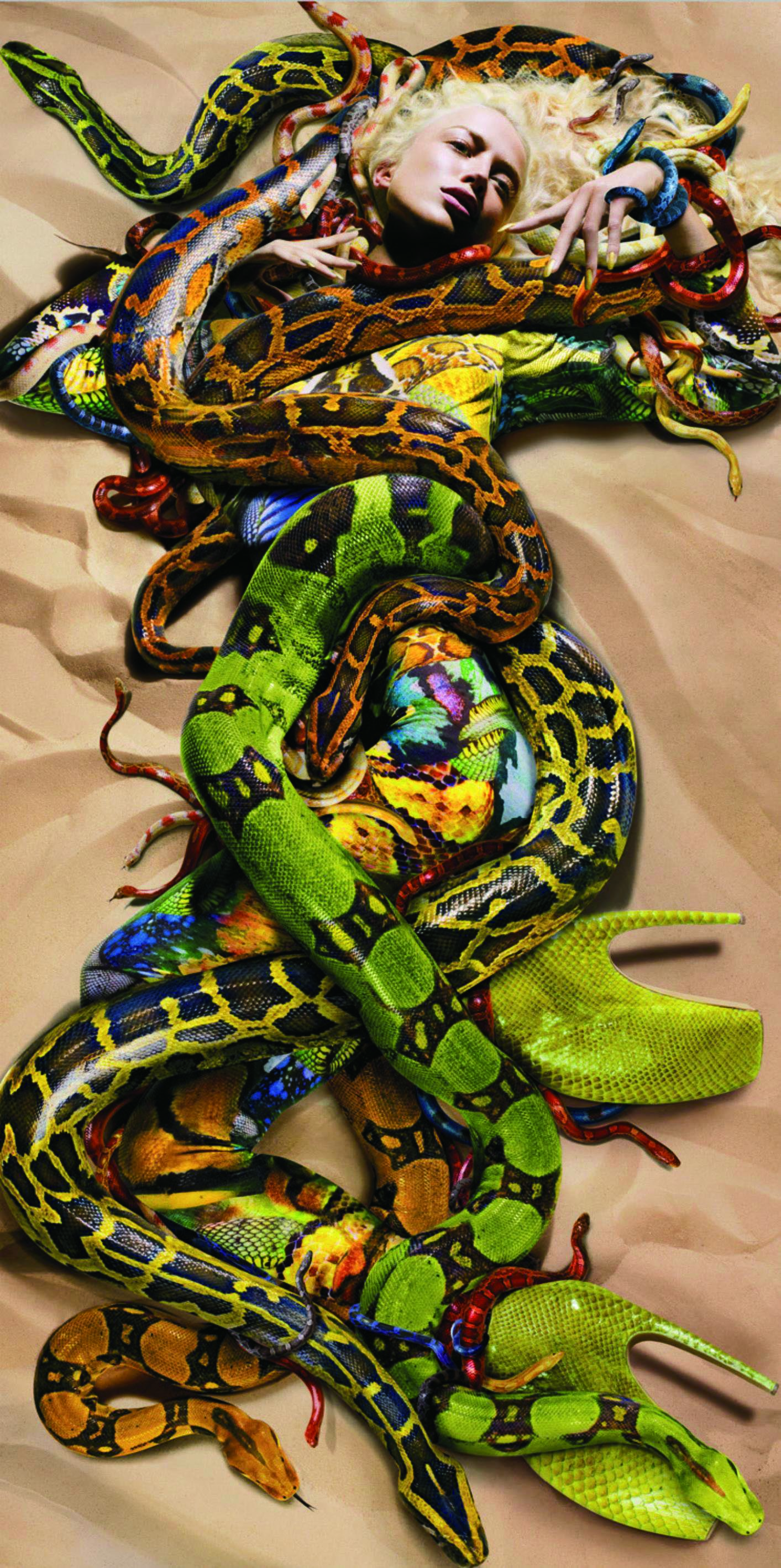 Nick Knight, Snakes for Alexander McQueen, 2009