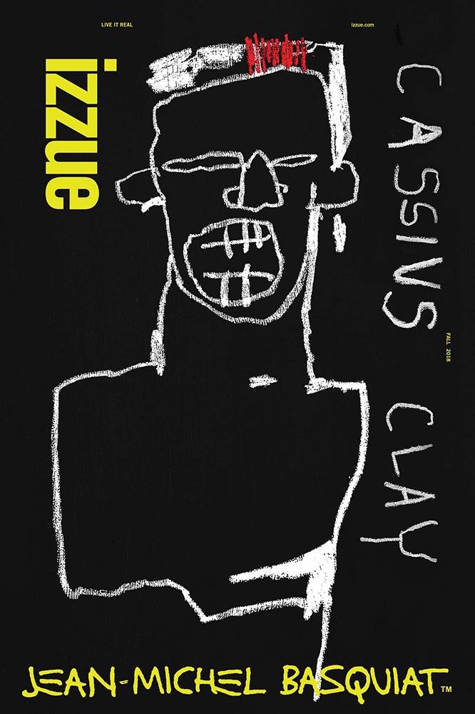 Izzue x Jean-Michel Basquiat autumn/winter collection (2018))