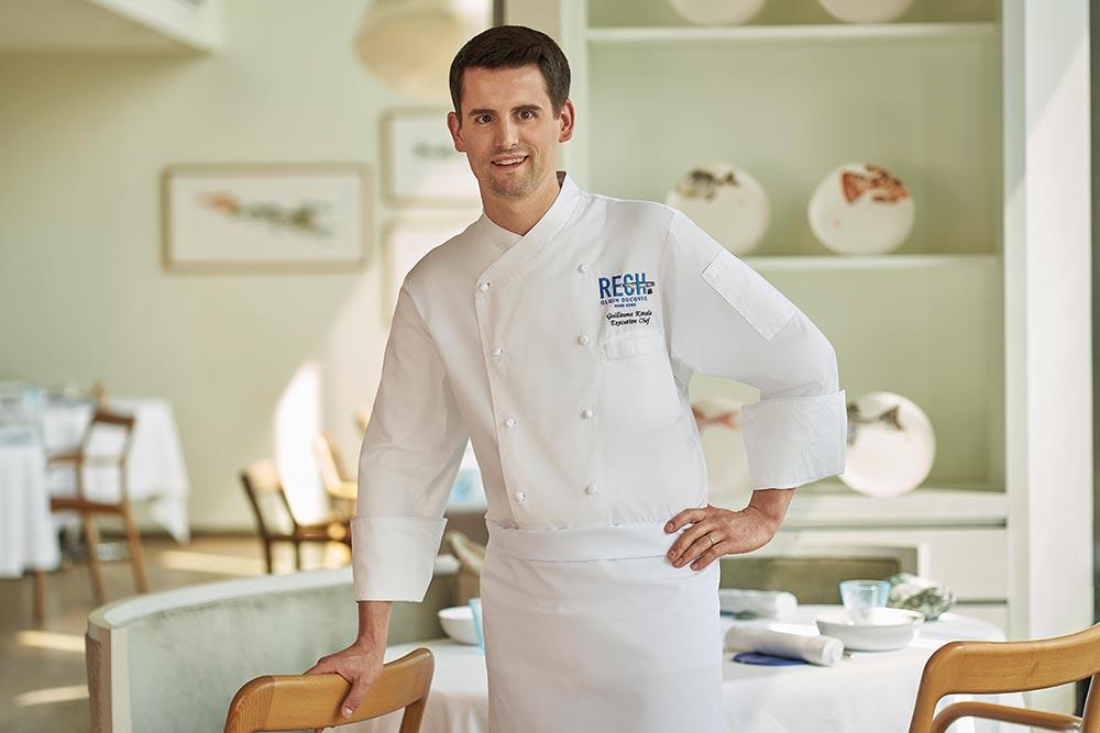 Rech's executive chef, Guillaume Katola