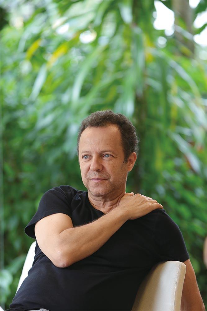 The São Paulo-born artist