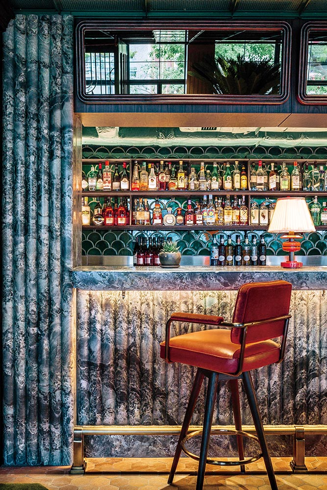 Pull up a chair at the Parlour Bar