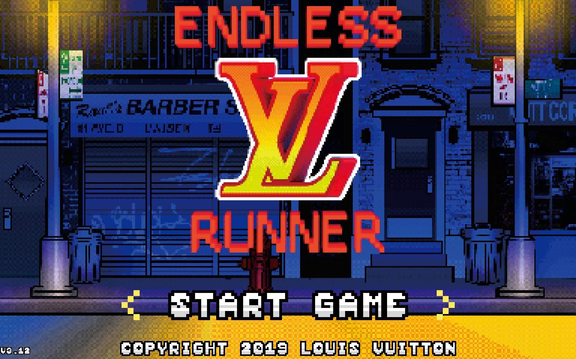 Endless Runner by Louis Vuitton