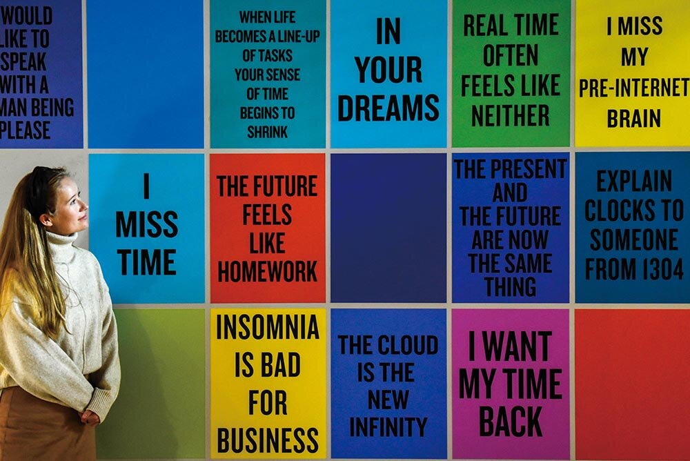 Douglas Coupland,  Slogans for the 21st Century  (2011-present)