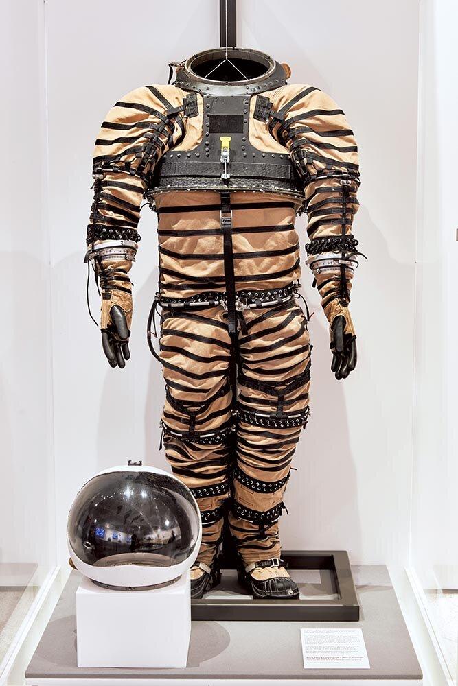 NDX-1 spacesuit