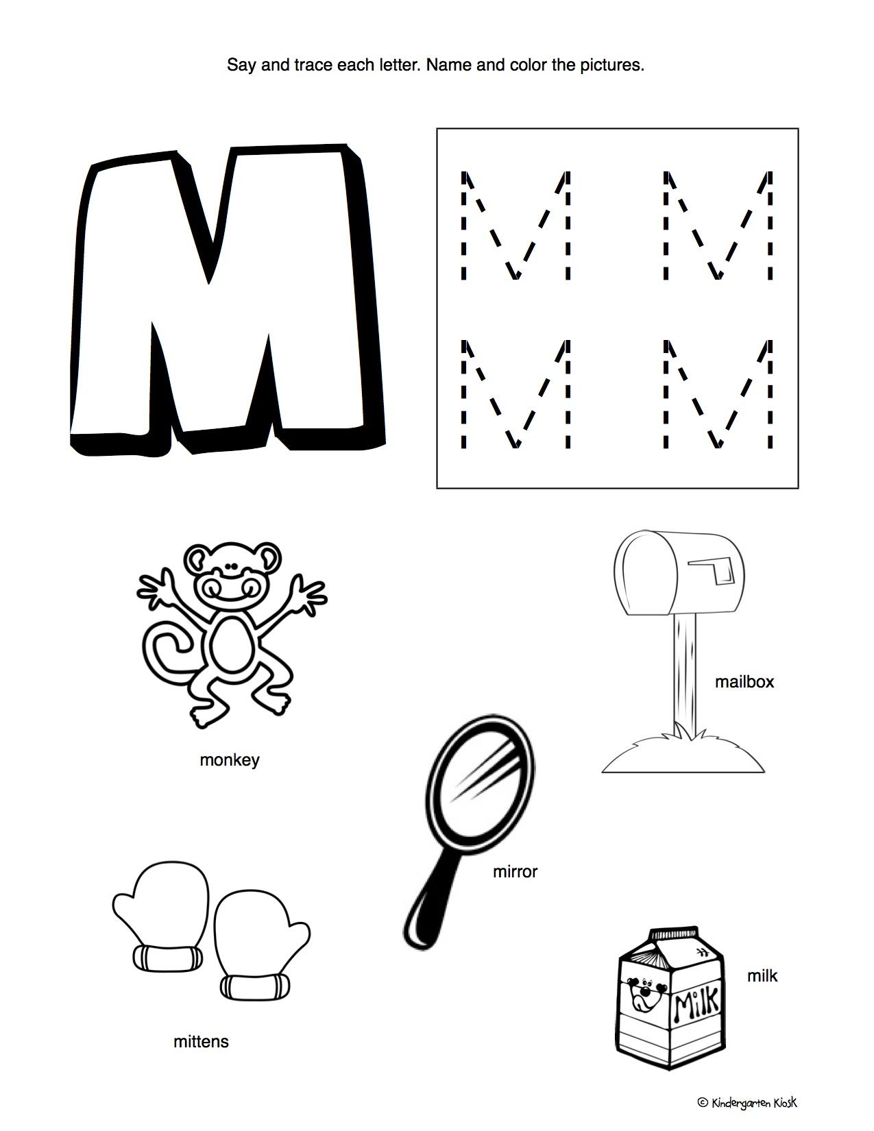 January Preschool Homework Packet — Kindergarten Kiosk