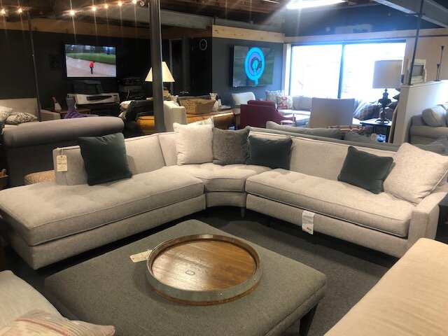 Brady Sectional by Rowe Furniture — Cole\'s Appliance and Furniture Co.