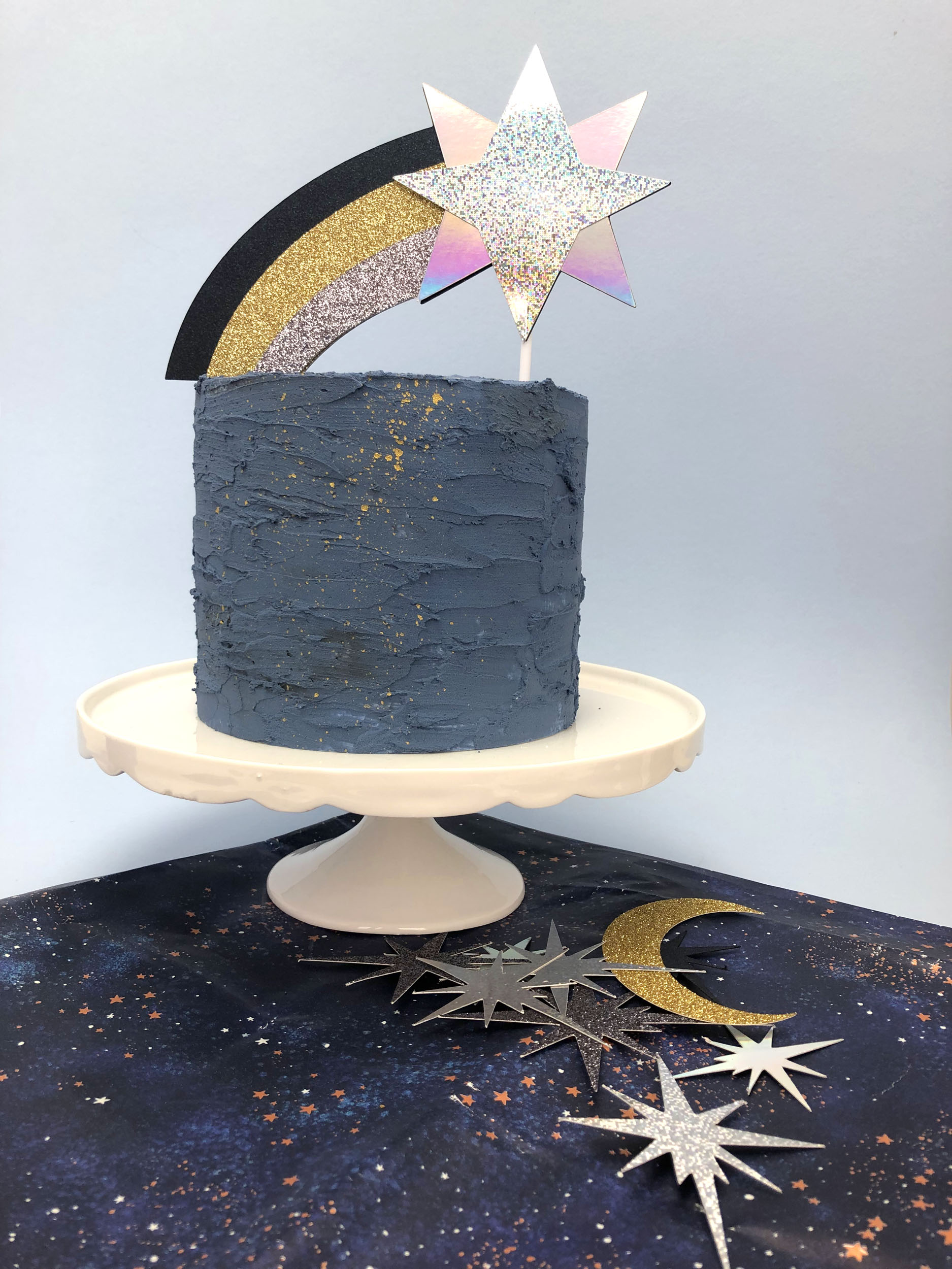 Shooting Star Cake Topper Rachel Emma Studio Wedding Decorations Stationery And Gifts
