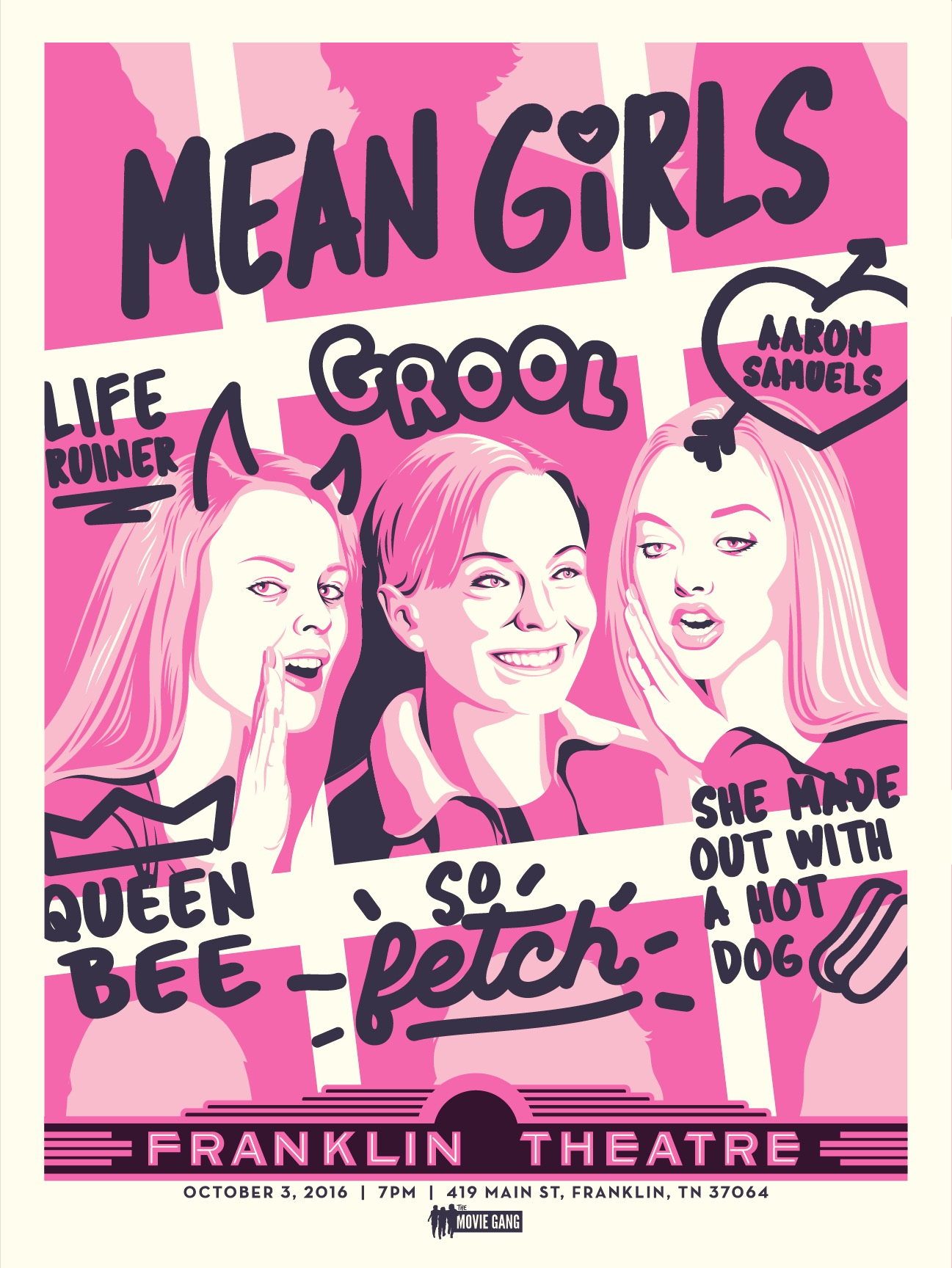 MEAN GIRLS — The Movie Gang